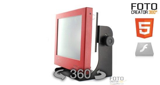 Eine 360° Animation eines Gerätes im Html5 Format. Dank Javascript sichtbar auf dem iPad, iPod und iPhone und anderen nicht Flash fähigen Endgeräten. Durch Drücken der linken Maustaste können sie die… Weiter lesen…