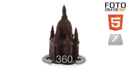 Eine 360° Animation der Liebfrauenkirche in Schokolade im HTML Format. Bitte beachten Sie das diese 360° Animation weder bildnachbearbeitet noch retuschiert wurde. Hiermit möchten wir Ihnen verdeutlichen, in welcher hohen Qualität… Weiter lesen…