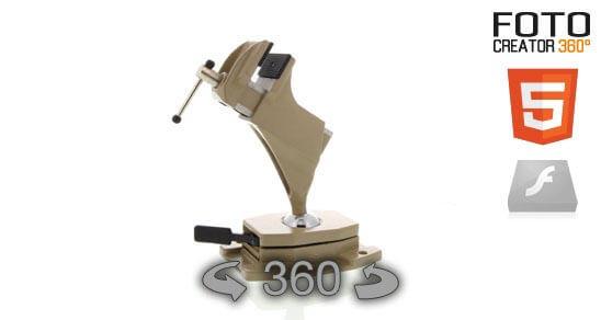 Eine 360° Animation eines Schraubstock im Html5 Format. Bitte beachten Sie das diese 360° Animation weder bildnachbearbeitet noch retuschiert wurde. Hiermit möchten wir Ihnen verdeutlichen, in welcher hohen Qualität das System… Weiter lesen…