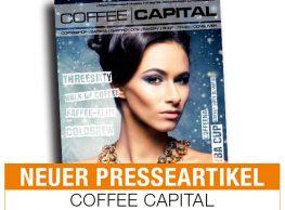 Coffee Capital – das Fachmagazin rund um das Thema Kaffee berichtet in seiner aktuellen Ausgabe 114 über uns. … Weiter lesen…